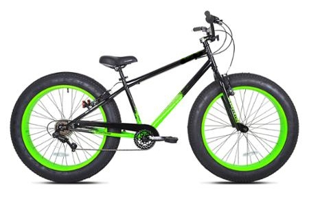 1000 Watt Electric Fat Tire Bike Beach Cruiser Mountain Bicycle 48 Volt (Color: Green)