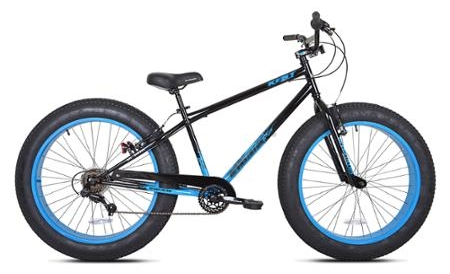 1000 Watt Electric Fat Tire Bike Beach Cruiser Mountain Bicycle 48 Volt (Color: Blue)