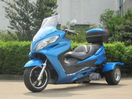 150cc Cyclone Trike (Color: Blue)
