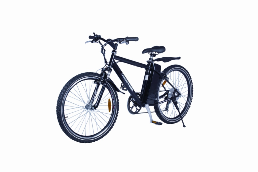 Alpine Trails Electric Bicycle (Color: Black)