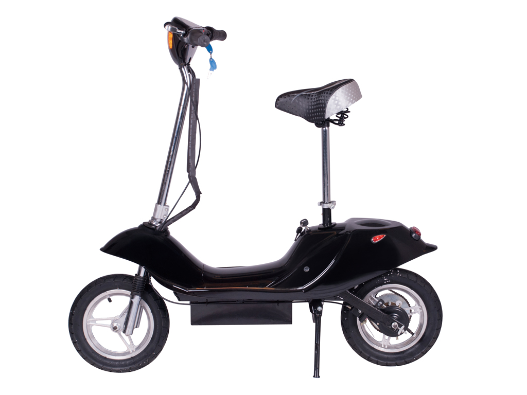 X-370 Electric Scooter (Color: Black)