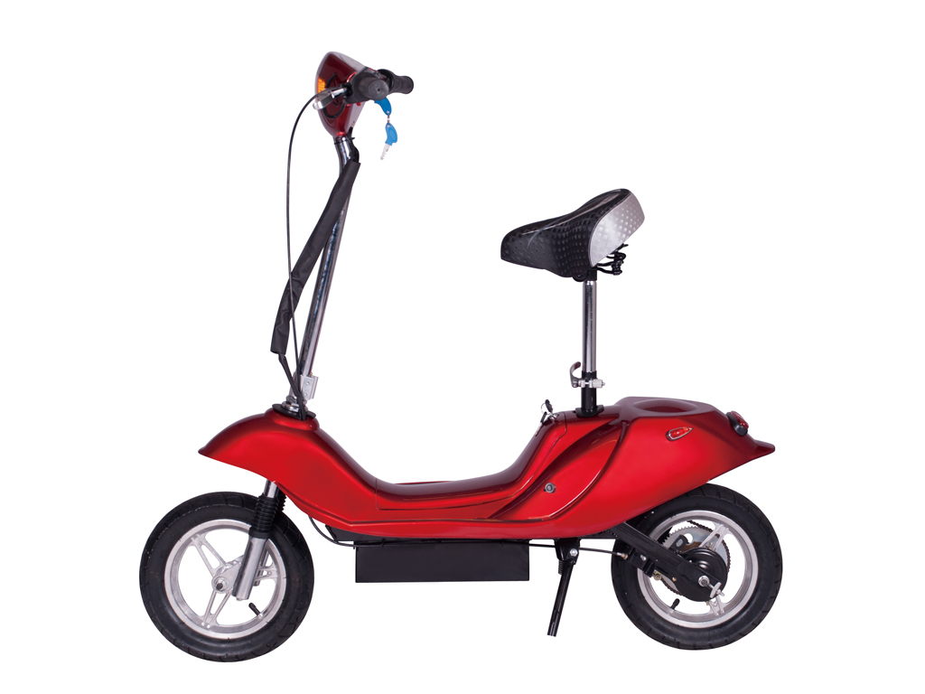 X-370 Electric Scooter (Color: Burgundy)