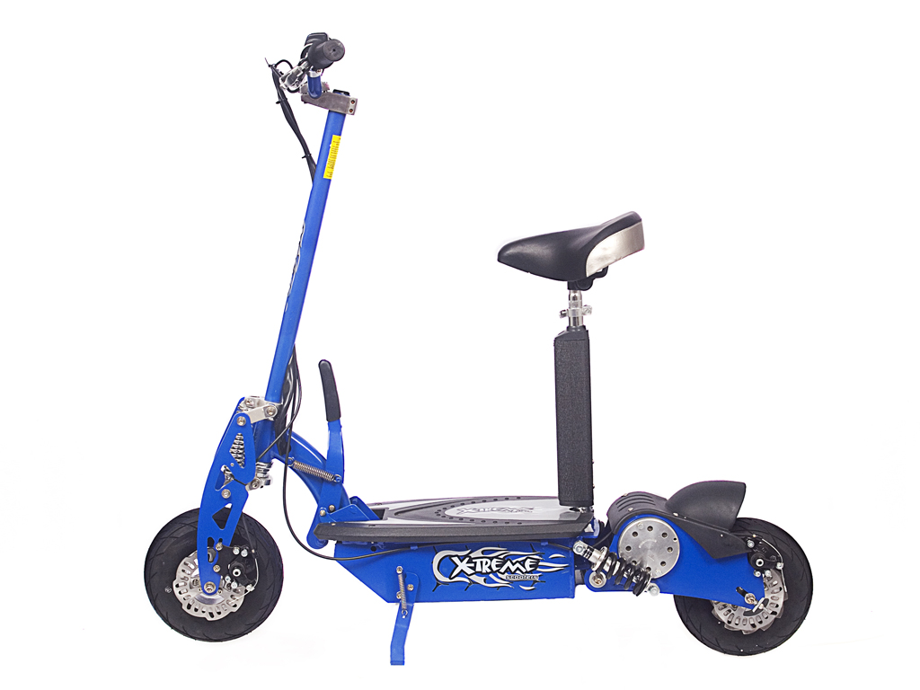 X-650 Electric Scooter (Color: Blue)