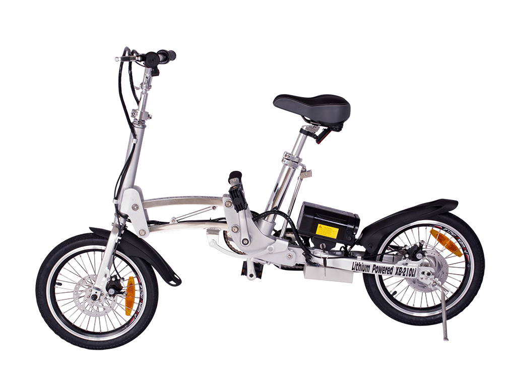 City Express Super Folding Electric Bicycle (Color: Aluminum)