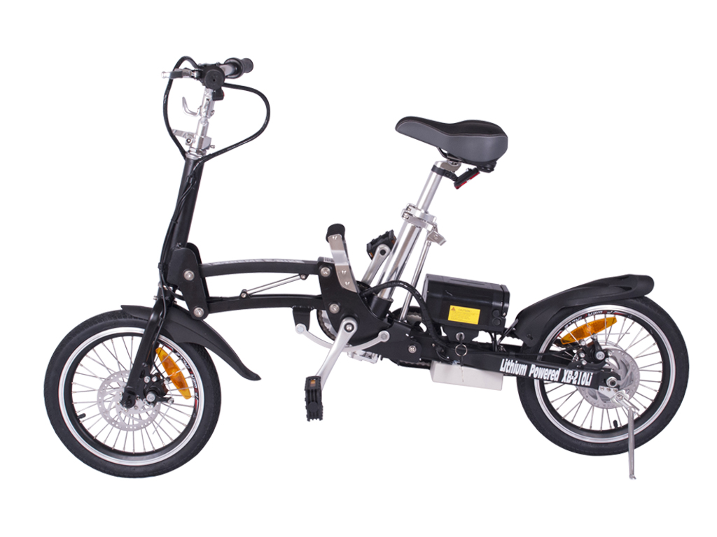 City Express Super Folding Electric Bicycle (Color: Black)