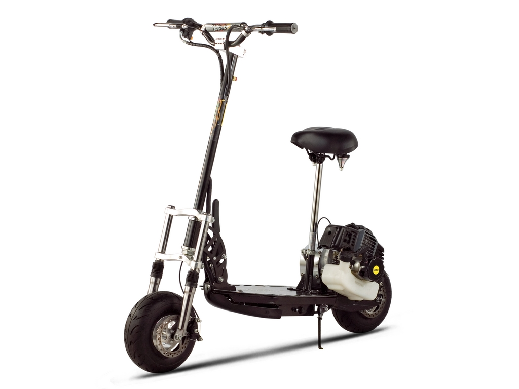 XG-555 Gas Scooter (Color: Black)