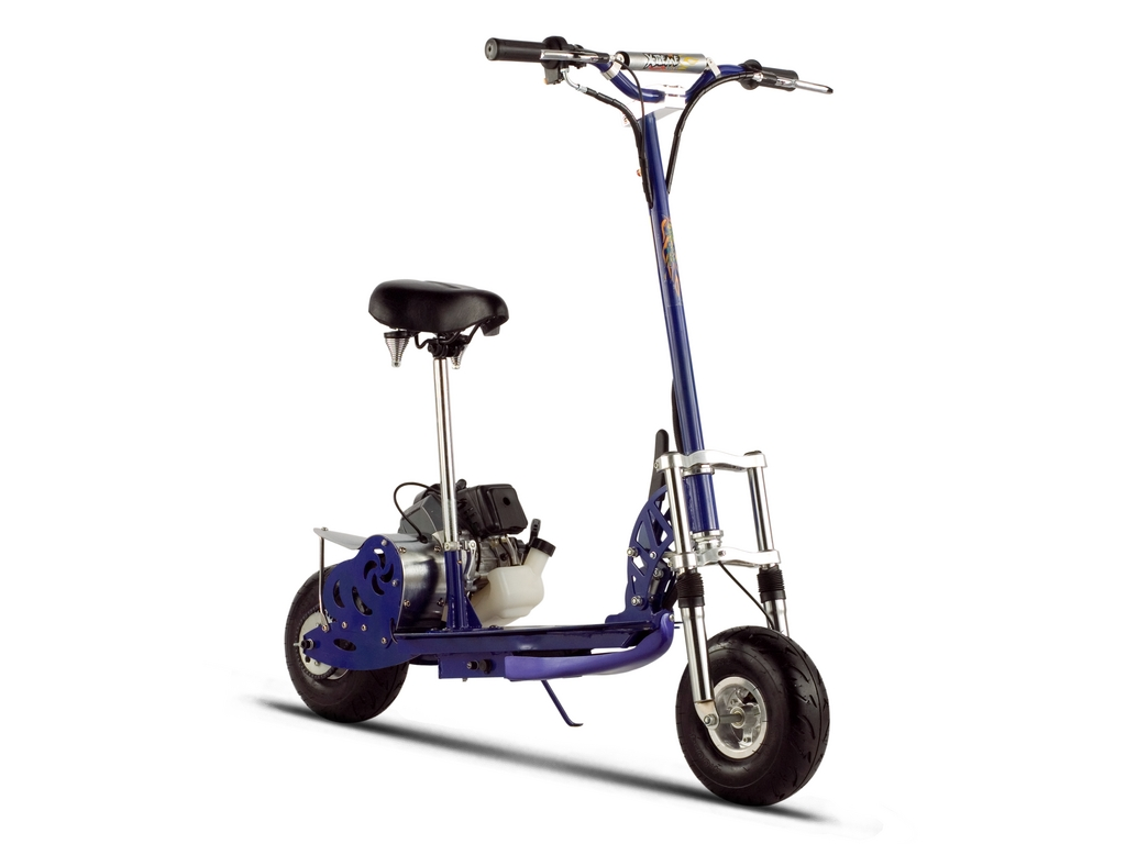XG-555 Gas Scooter (Color: Blue)